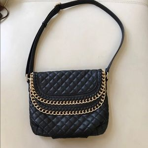 2x$20 Urban outfitters Black quilted crossbody bag